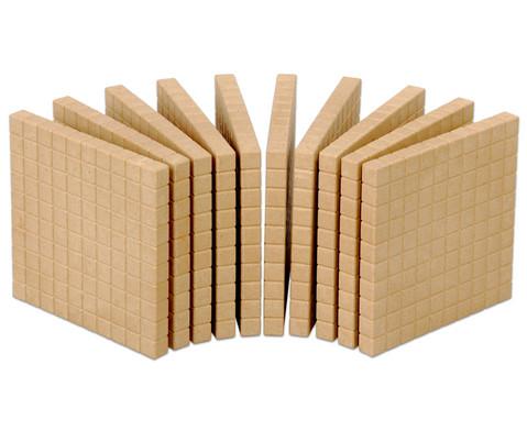 RE-WOOD Zehnersystemsatz 121 Teile  in Stapelbox-6