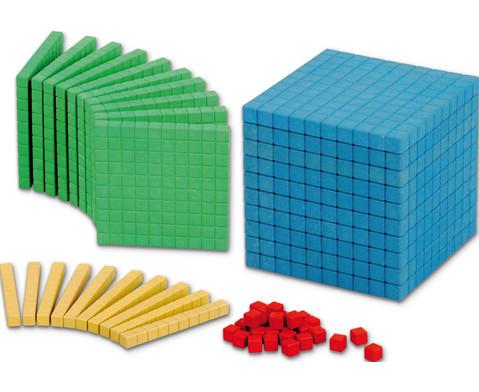 RE-WOOD Zehnersystemsatz bunt 121 Teile-1