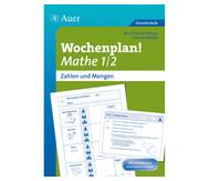Wochenplan Mathe 1/2, Zahlen und Mengen