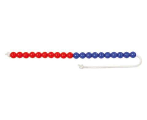 Demo-Rechenkette bis 20 10 blau-10 rot-1