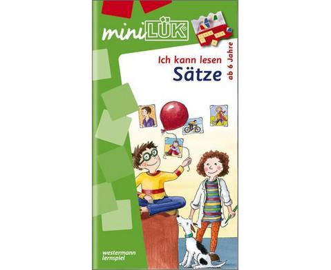 miniLUEK-Heft Ich kann lesen - Saetze-1