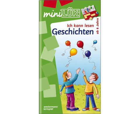 miniLUEK-Heft Ich kann Lesen Geschichten-1
