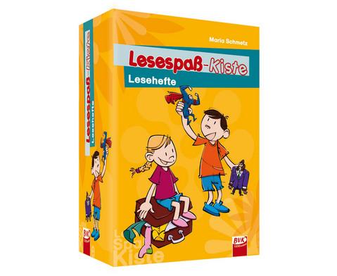 Lesespass-Kiste Lesehefte
