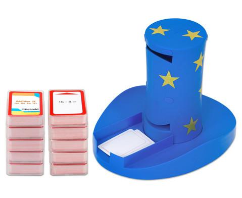 Betzold magischer Zylinder mit 10 Karten-Sets zum Rechnen im 1 Schuljahr