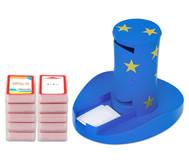 Magischer Zylinder mit 10 Karten-Sets zum Rechnen im 2. Schuljahr