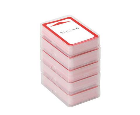 Magischer Zylinder mit 10 Karten-Sets zum Rechnen im 3 Schuljahr-2