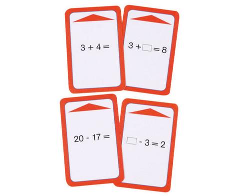 Kartensatz zum magischen Zylinder Addition-Subtraktion bis 20 ohne Zehnerueberschreitung-4