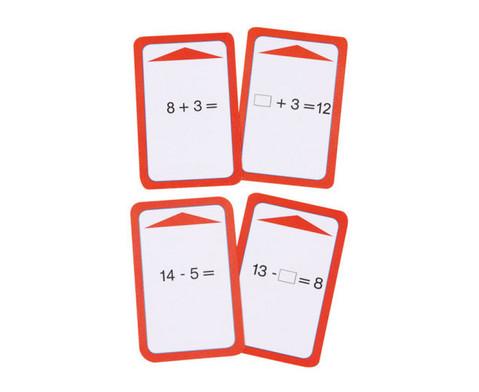 Kartensatz zum magischen Zylinder Addition-Subtraktion bis 20 ohne Zehnerueberschreitung-6