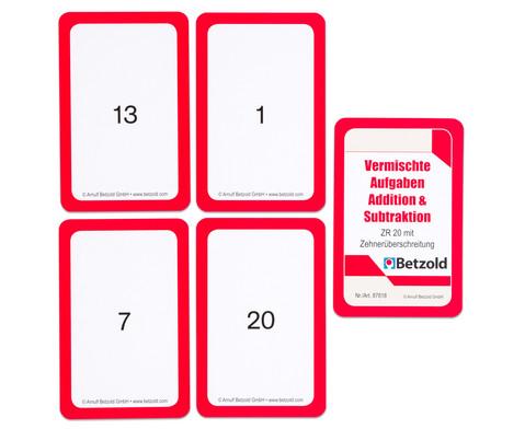 Kartensatz fuer den Magischen Zylinder - Addition-Subtraktion-4