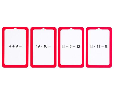 Kartensatz fuer den Magischen Zylinder - Addition-Subtraktion-7
