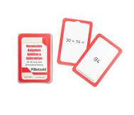 Kartensatz zum magischen Zylinder: Addition/Subtraktion bis 100 mit und ohne Zehnerüberschreitung