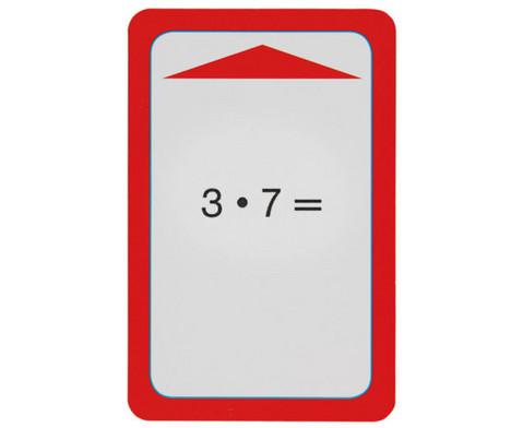 Kartensatz zum magischen Zylinder Multiplikation-Division Reihen 2 3 4 5 10-2