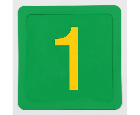Zahlenmatten 21 Stueck in stabiler Box-2
