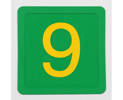 Zahlenmatten 21 Stueck in stabiler Box-5