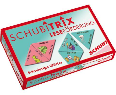 Schubitrix Lesefoerderung Schwierige Woerter