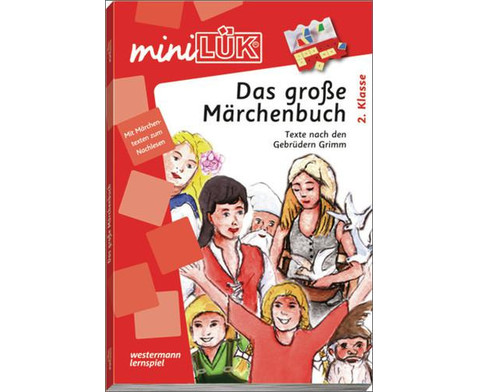 miniLUEK-Heft Das grosse Maerchenbuch 2 Klasse-1