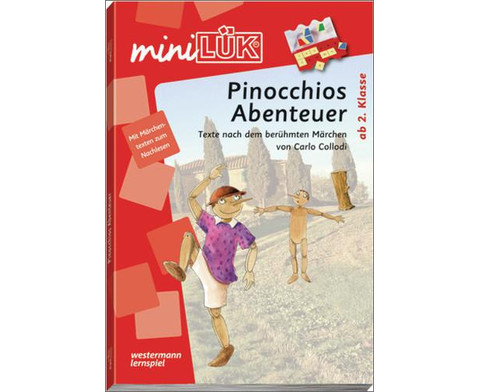 miniLUEK-Heft Pinocchios Abenteuer 2 Klasse-1