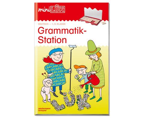 miniLUEK-Heft Grammatikstation 1-2 Klasse