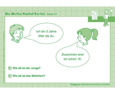 Die Mathe-Knobelkartei 1--2