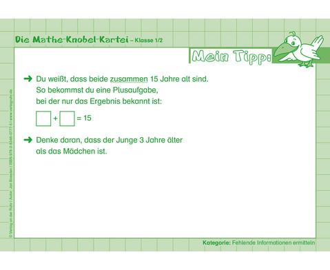 Die Mathe-Knobelkartei 1--4