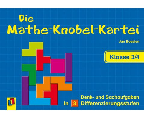 Die Mathe-Knobelkartei 3-4-1