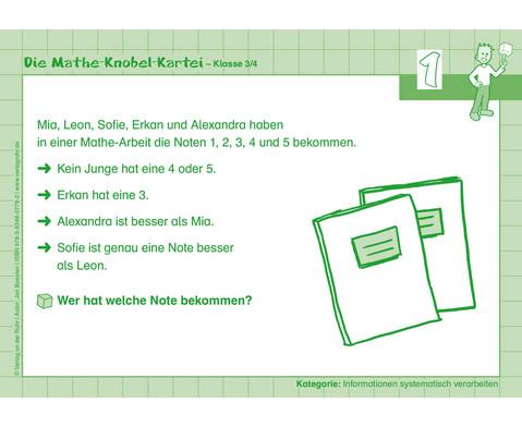 Die Mathe-Knobelkartei 3-4-3