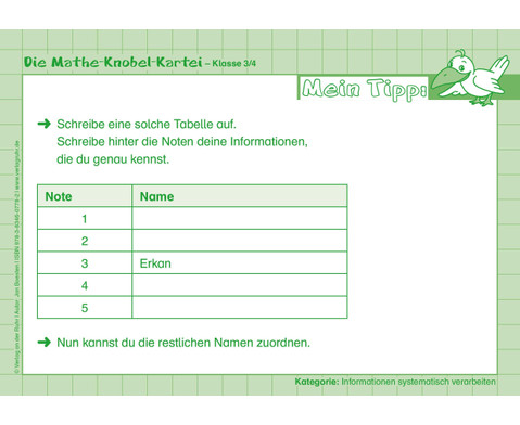 Die Mathe-Knobelkartei 3-4-4