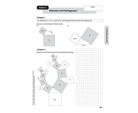 Mathe an Stationen spezial- Pythagoras-7