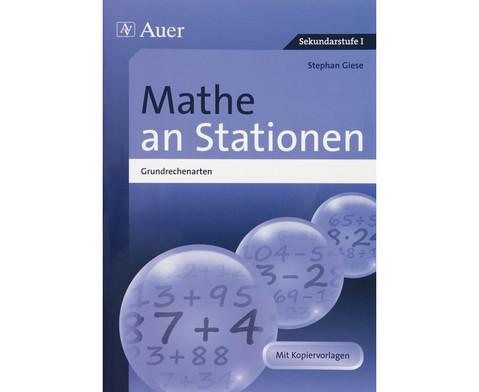 Mathe an Stationen Grundrechenarten Klasse 5-6-1