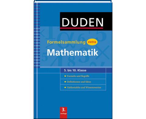 Duden - Formelsammlung extra  Mathematik
