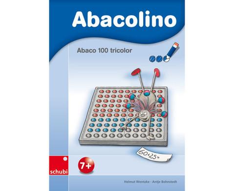 Abacolino-Arbeitsheft Abaco 100 tricolor
