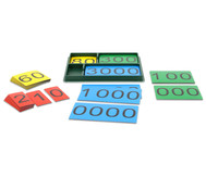 Stellenwertkarten im Sortierkasten