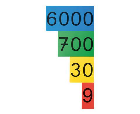 Stellenwertkarten im Sortierkasten-4