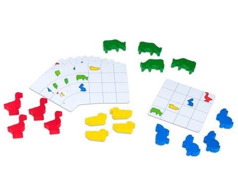 Lernbox Jede Farbe hat seinen Platz Tiere-3
