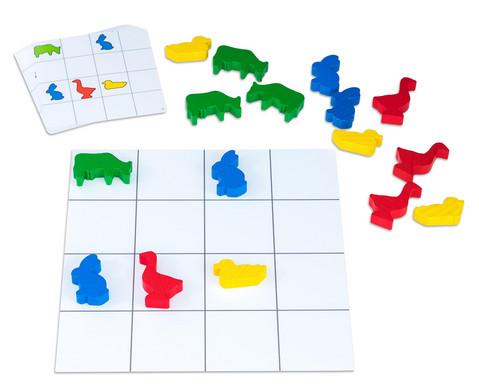 Lernbox Jede Farbe hat seinen Platz Tiere-5
