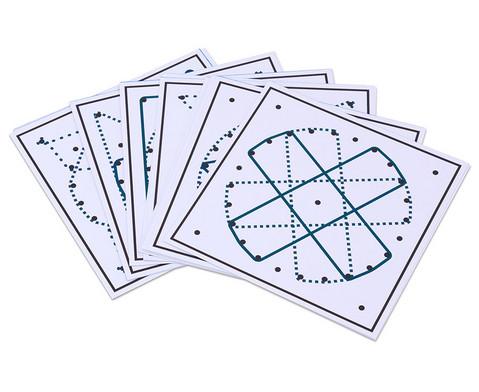 Arbeitskarten fuer das runde Geometriebrett