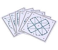 Arbeitskarten für das runde Geometriebrett