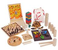 Holzspiele Box