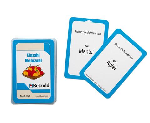 Einzahl - Mehrzahl - Kartensatz fuer den Magischen Zylinder-2