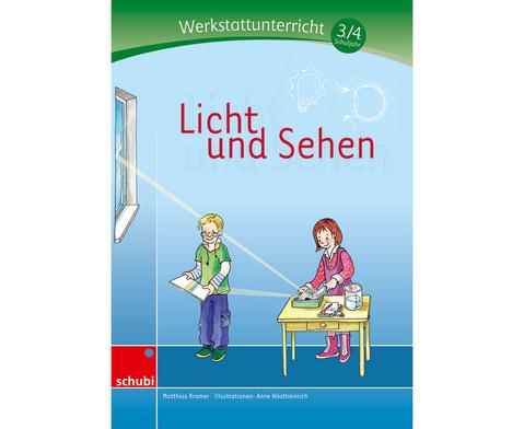 Licht und Sehen - Werkstatt 3-4 Schuljahr-1