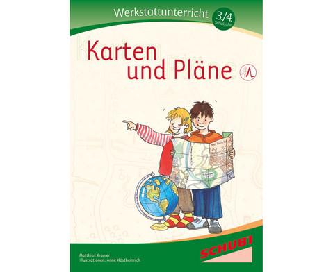 Karten und Plaene - Werkstatt 3-4 Schuljahr-1