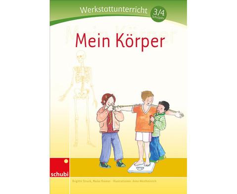 Mein Koerper - Werkstatt 3-4 Schuljahr-1