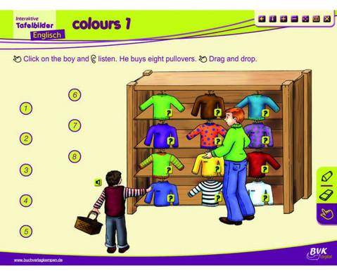 Englisch fuer die Grundschule - Interaktive Tafelbilder-3
