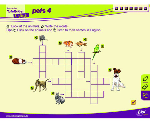 Englisch fuer die Grundschule - Interaktive Tafelbilder-6