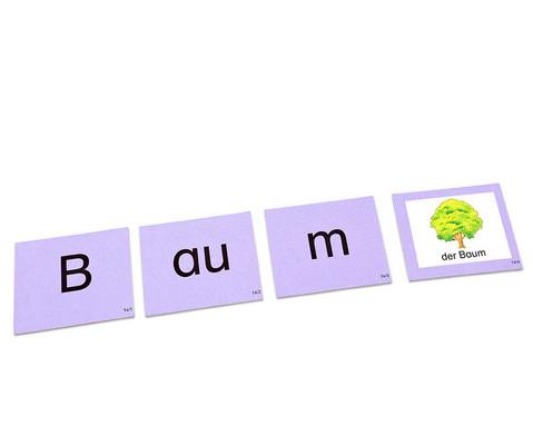 Kartensatz zum Leseturm Wortaufbau - Konsonantenhaeufung-1
