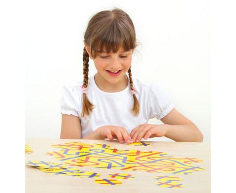 Streckenpuzzle mit 18 sechseckigen Karten-2