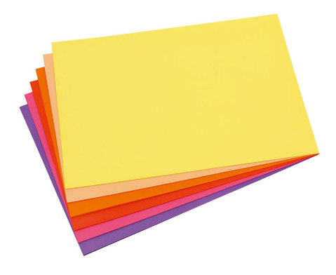 Schulset Tonpapier Set 1 Rottoene