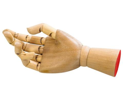 Zeichenmodell Hand