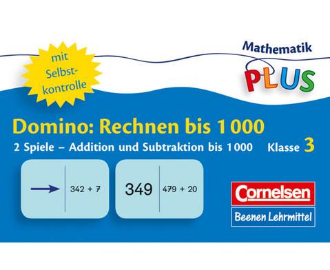 Rechen-Domio - Rechnen im Zahlenraum bis 1000-1