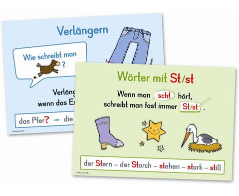 Merkposter Rechtschreibung Grundlagen